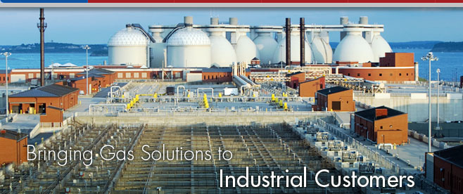 Bringing Gas Solutions to Industrial Customers